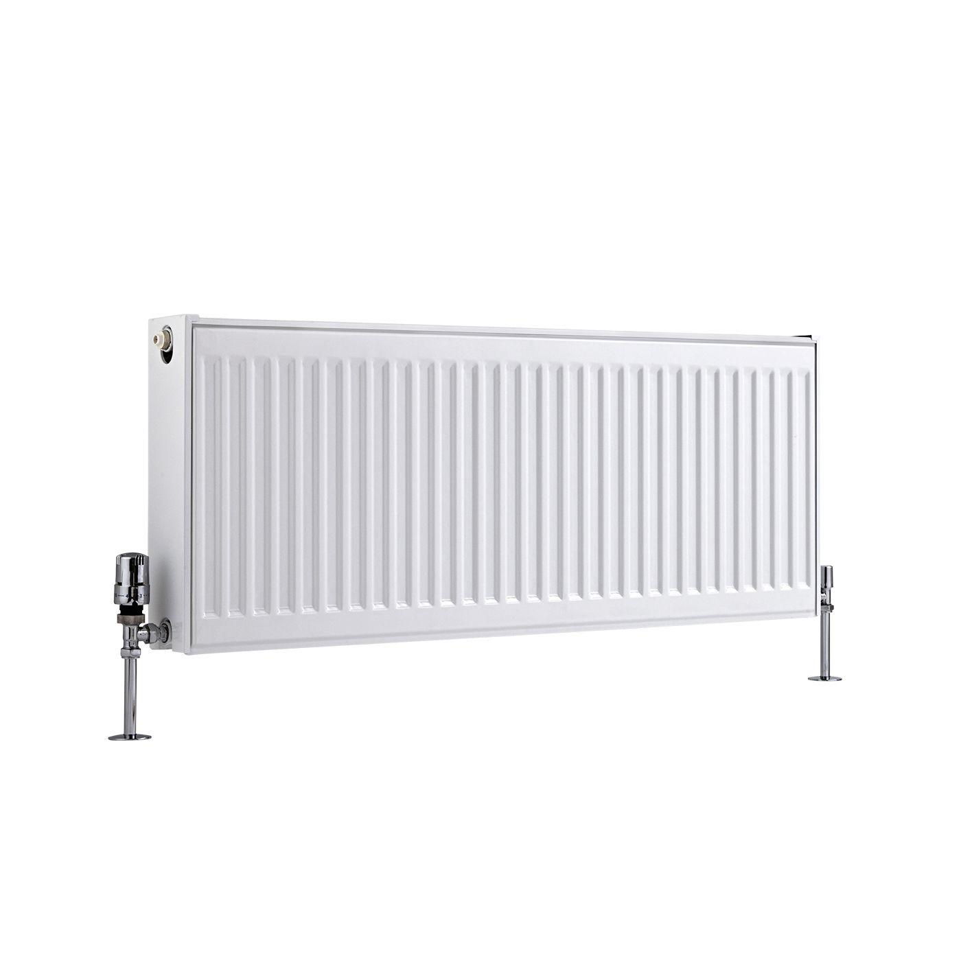 radiateur panneaux type 22 horizontal blanc eco 40cm x 100cm x 10 3cm 1155 watts. Black Bedroom Furniture Sets. Home Design Ideas