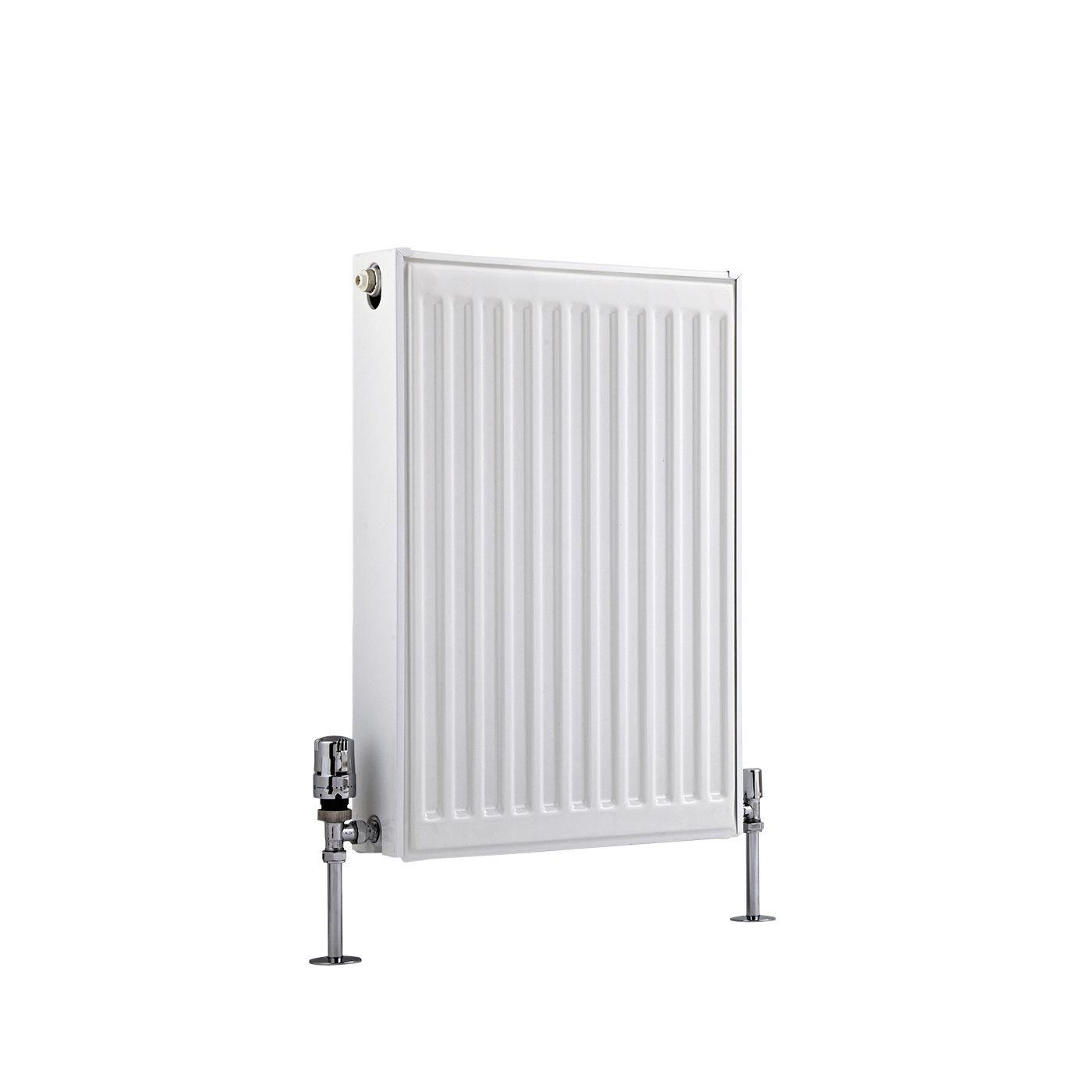 radiateur panneaux type 22 horizontal blanc eco 60cm x 40cm x 10 3cm 704 watts. Black Bedroom Furniture Sets. Home Design Ideas