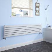 Radiateur Design Horizontal Blanc Sloane 35,4cm x 160cm x 7,4cm 1308 Watts