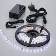 Biard Bande lumineuse étanche 5 mètres 300 LED 3528 avec alimentation électrique
