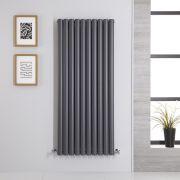 Radiateur Vertical Vitality Anthracite 140cm x 59cm x 7.8cm 1740 watts