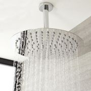 Bras pour Pomme de douche 15cm à fixer au plafond