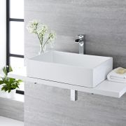 Vasque à poser rectangulaire Haldon 60 x 39cm
