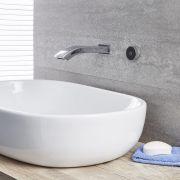 Bec verseur mural pour baignoire ou  lavabo avec commande digitale – chromé - Razor
