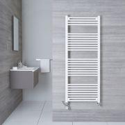 Sèche-Serviettes Mixte Blanc Etna 150cm x 60cm x 3cm 942 Watts