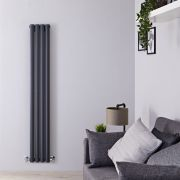 Radiateur Design Vertical Anthracite Vitality 160cm x 23,6cm x 7,8cm 819 Watts