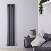 Radiateur Design Vertical Anthracite Savy 160cm x 35,4cm x 8,1cm 958 Watts