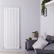 Radiateur design vertical - Blanc – 160 cm x 59 cm - Vitality