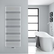 Sèche-serviettes eau chaude blanc Arch 153.3x60cm 1818 watts