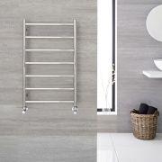 Sèche-serviettes eau chaude 50cm x 80cm - Quo chromé - 257 watts