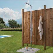 Douche extérieure chromée Lugo