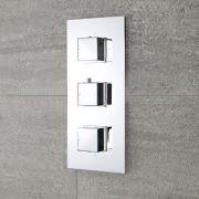 Mitigeur Douche Thermostatique Encastrable, Design Cubique