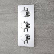 Mitigeur Douche Thermostatique Encastrable 2 Fonctions Rondo