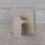 Mitigeur de douche mécanique Harting Nickel brossé