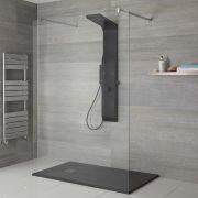 Colonne de douche mitigeur mécanique – Noir - Alston