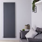 Radiateur Design Vertical Anthracite Vitality 178cm x 59cm x 7,8cm 2335 Watts
