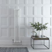 Radiateur Vertical Style Fonte Blanc Windsor 150cm x 29cm x 10cm 1041 Watts