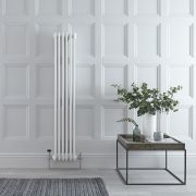 Radiateur Vertical Style Fonte Blanc Windsor 150cm x 29cm x 6,8cm 822 Watts