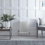 Radiateur Horizontal Style Fonte Blanc Windsor 60cm x 42,5cm x 10cm 721 Watts