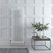 Radiateur Vertical Style Fonte Blanc Windsor 150cm x 56cm x 10cm 2081 Watts