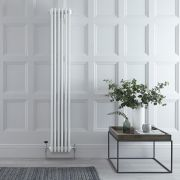 Radiateur Vertical Style Fonte Blanc Windsor 180cm x 29cm x 13,3cm 1615 Watts