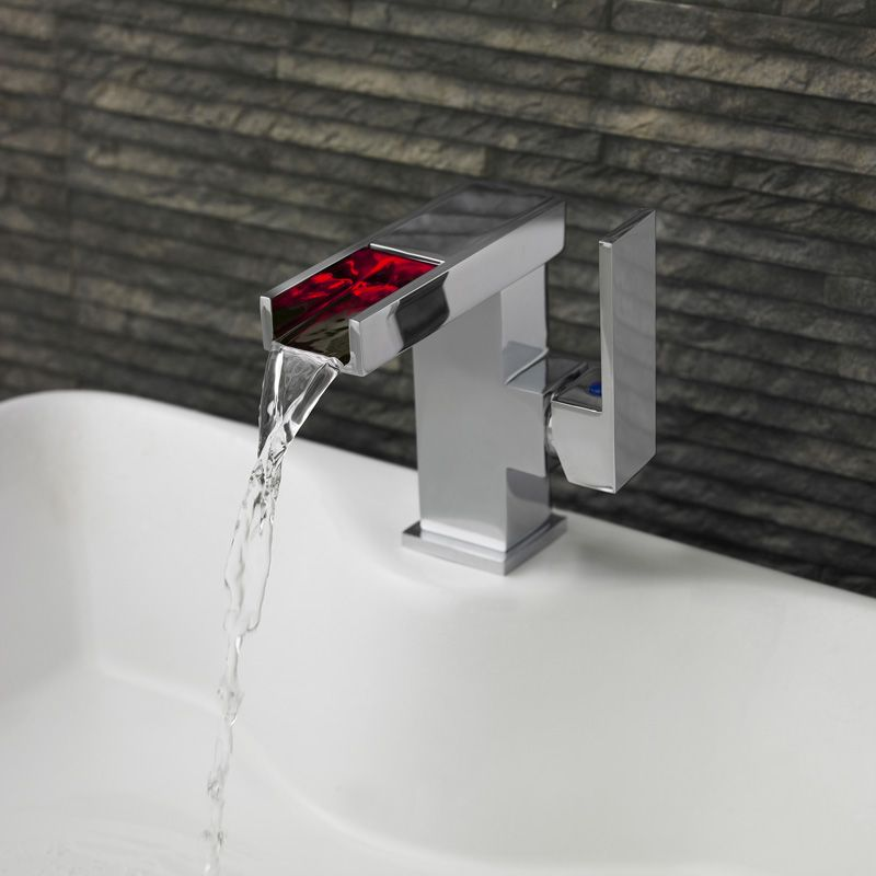 Meuble Sous Lavabo A Poser Hauteur : Mitigeur monotrou pour lavabo ou vasque à led