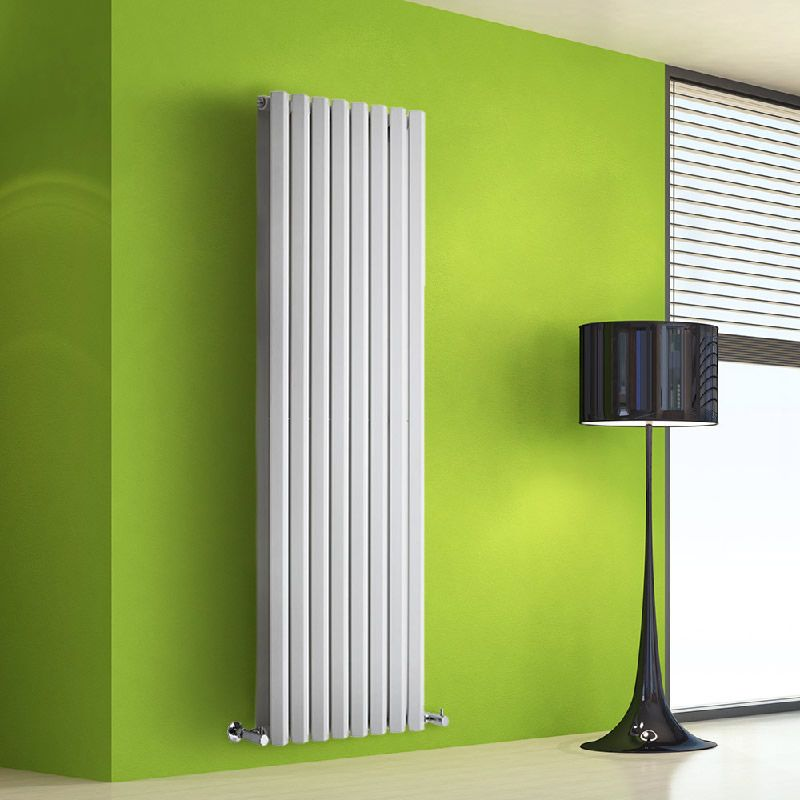 radiateur design vertical blanc salisbury 160cm x 56cm x 8. Black Bedroom Furniture Sets. Home Design Ideas
