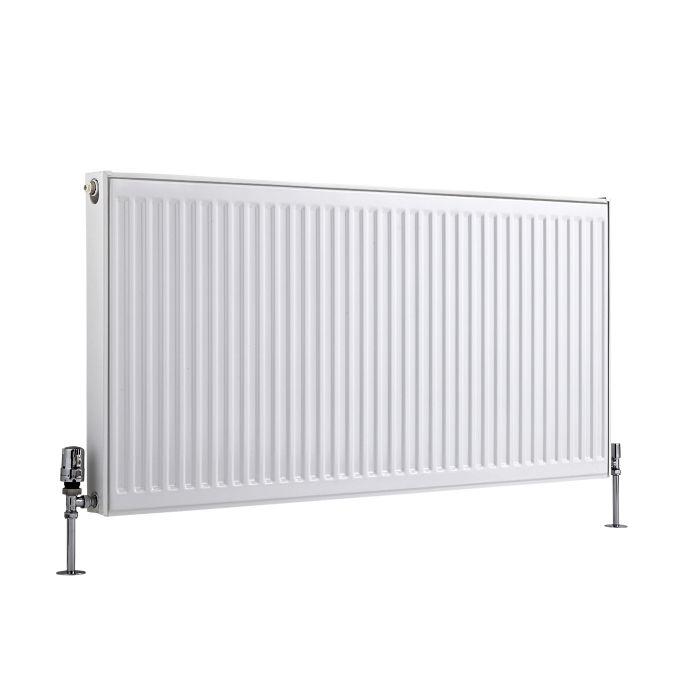 Radiateur À Panneaux Type 11 Horizontal Blanc Eco 60cm x 120cm x 5cm 1111 Watts