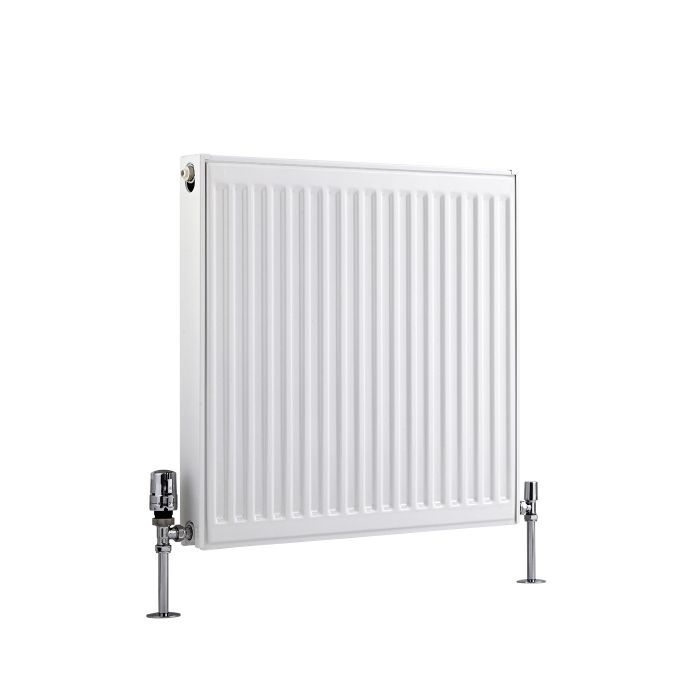 Radiateur À Panneaux Type 21 Horizontal Blanc Eco 60cm x 60cm x 7,3cm 803 Watts