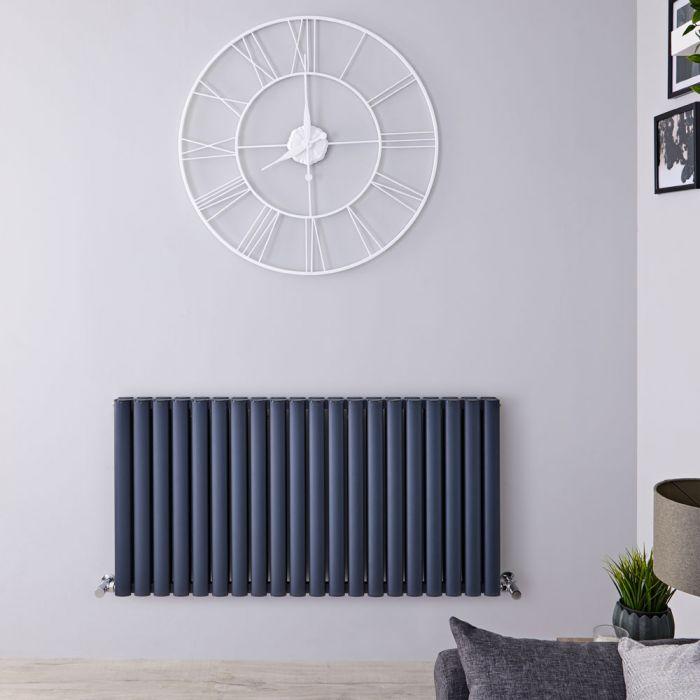 Radiateur Aluminium Design Anthracite 60 x 119cm 2298 watts Vitality Air