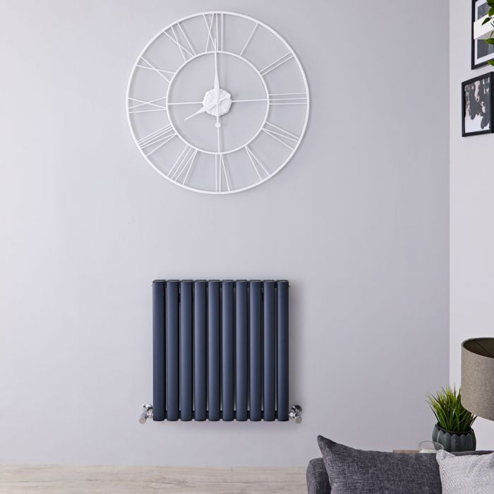 Radiateur Aluminium Design Anthracite 60 x 59cm 1149 watts Vitality Air