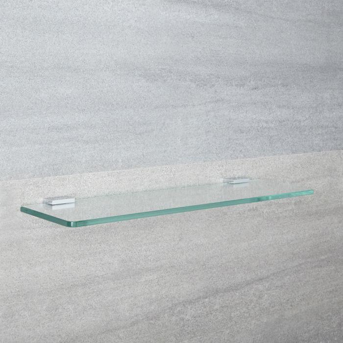 Tablette salle de bain 12x50cm Kubix