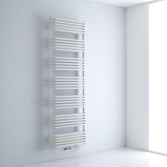 Sèche-serviettes eau chaude - Blanc - 180 x 60 cm - Arch