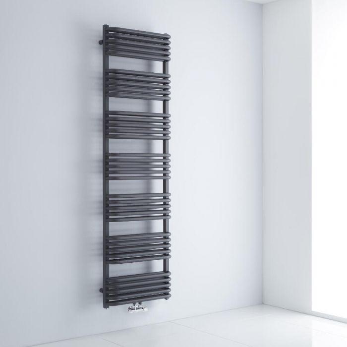 Sèche-serviettes eau chaude - Anthracite - 180 x 50 cm - Arch