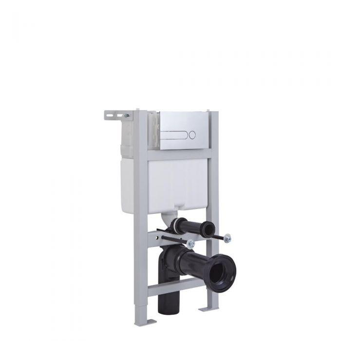 Bâti-support WC suspendu – 82 cm x 40 cm