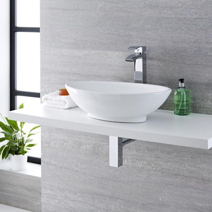 Vasque à poser ovale - 52 x 32 cm - Kenton