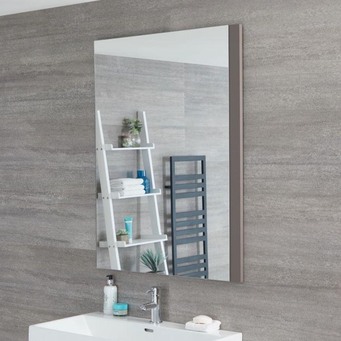 Miroir – Gris mat – 75 cm x 100 cm - Newington