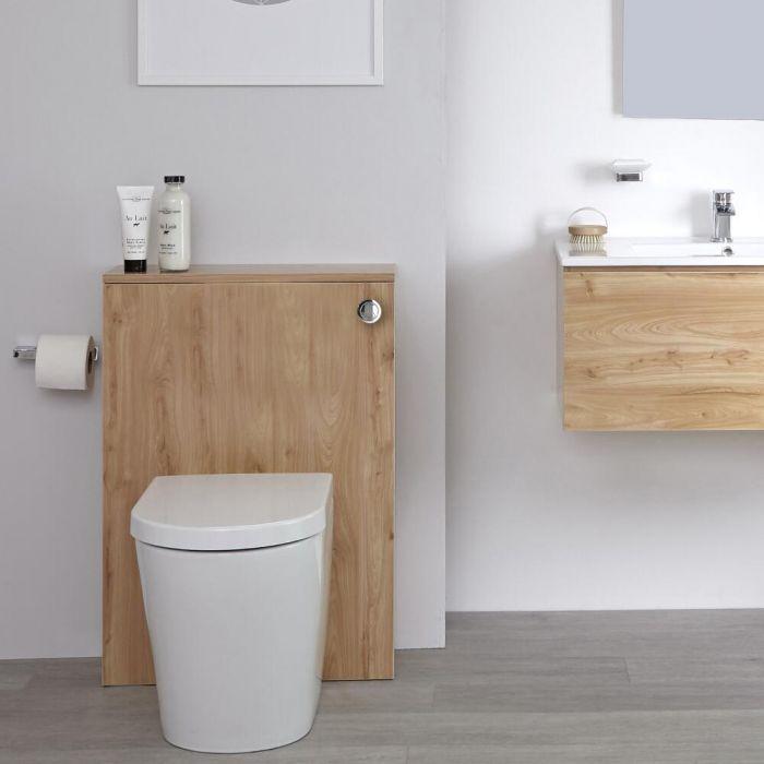 Meuble WC – Effet chêne doré – 60 cm - Newington