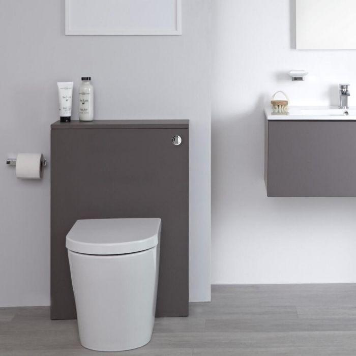 Meuble WC moderne – Gris – 60 cm - Newington