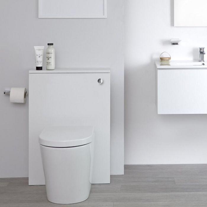 Meuble WC – 60 cm – Blanc - Newington