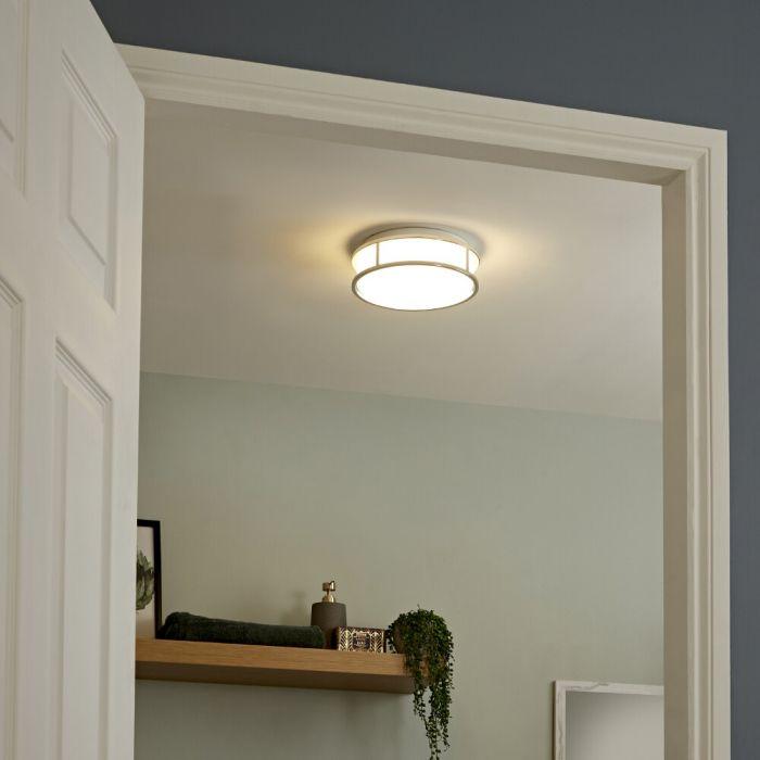 Plafonnier LED 12W Ø 25,2cm Nemi IP44