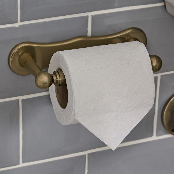 Dérouleur papier toilette – Or brossé - Alice