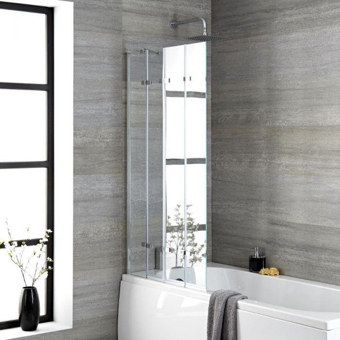 Pare-baignoire pliant – 140 cm x 80 cm - Portland