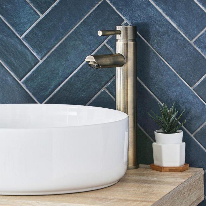 Mitigeur lavabo haut – Or brossé - Clarus