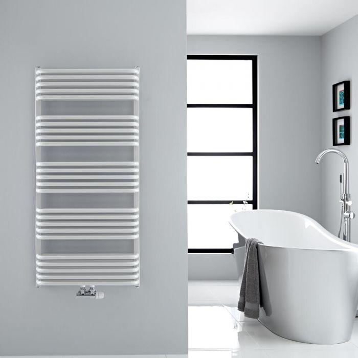 Sèche-serviettes eau chaude - Blanc - 126,9 x 60 cm - Arch