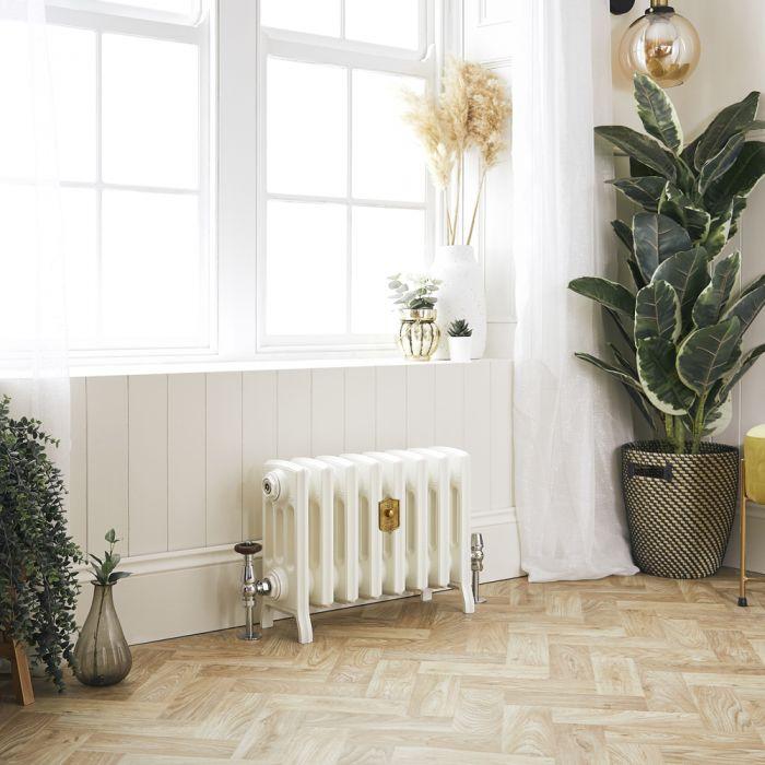 Radiateur fonte – 35,7 cm – Blanc porcelaine – Tailles multiples - Isabel
