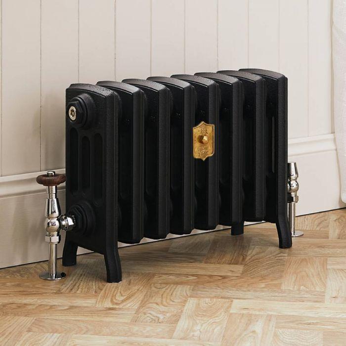 Radiateur fonte – 35,7 cm – Noir ardoise – Tailles multiples - Isabel