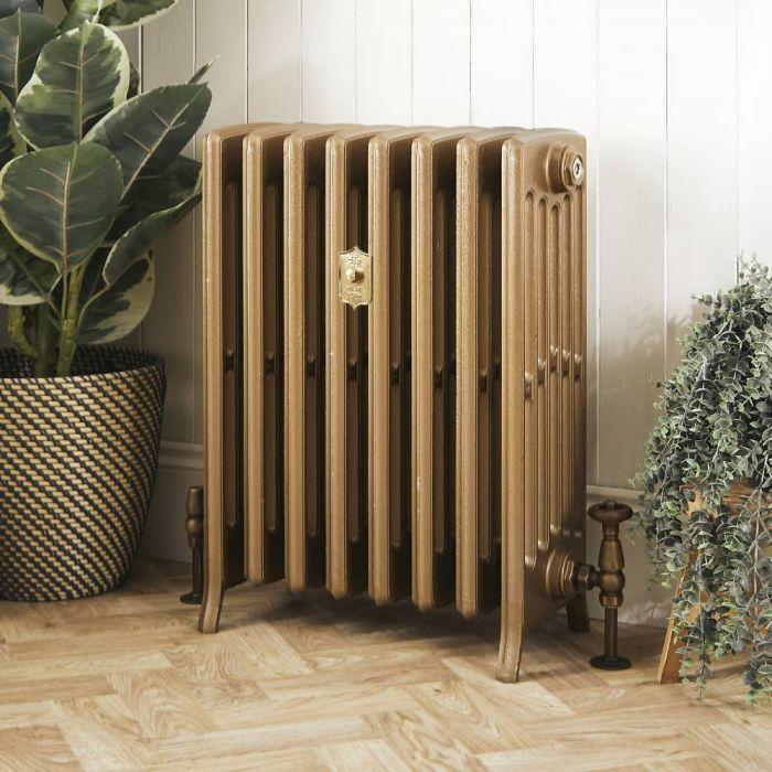 Radiateur fonte – 66 cm – Or baroque – Tailles multiples - Isabel