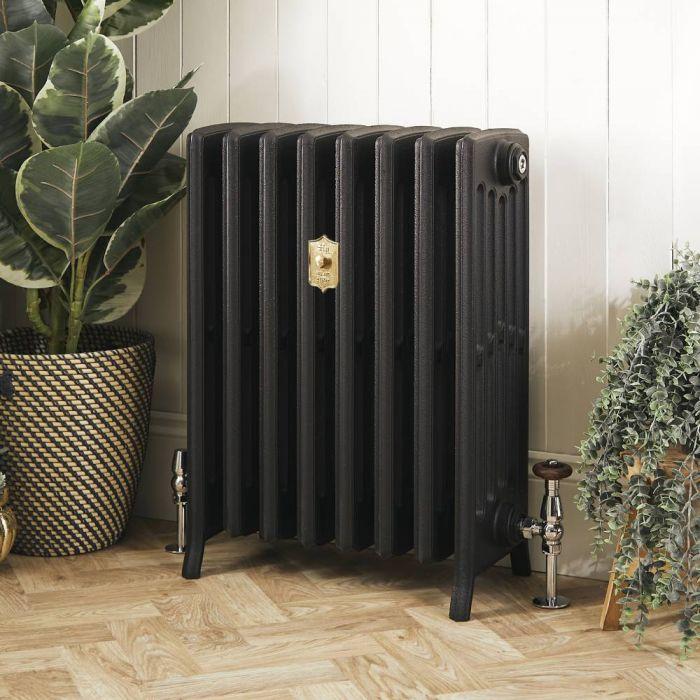 Radiateur fonte – 66 cm – Noir ardoise – Tailles multiples - Isabel