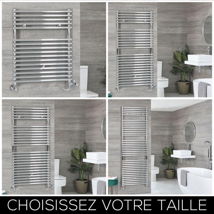 Sèche-serviettes mixte – Chromé – Choix de tailles – Arno